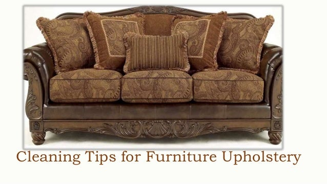 Cleaning Tips For Furniture Upholstery