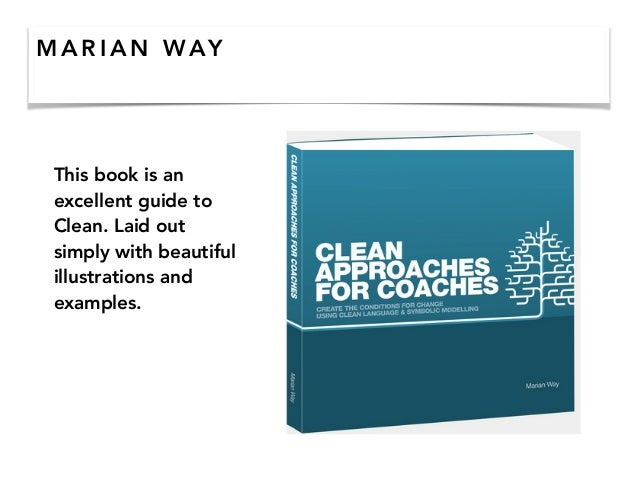 M A R I A N WAY This book is an excellent guide to Clean. Laid out simply with beautiful illustrations and examples.