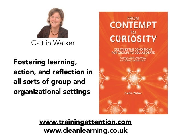 Fostering learning, action, and reflection in all sorts of group and organizational settings www.trainingattention.com www....