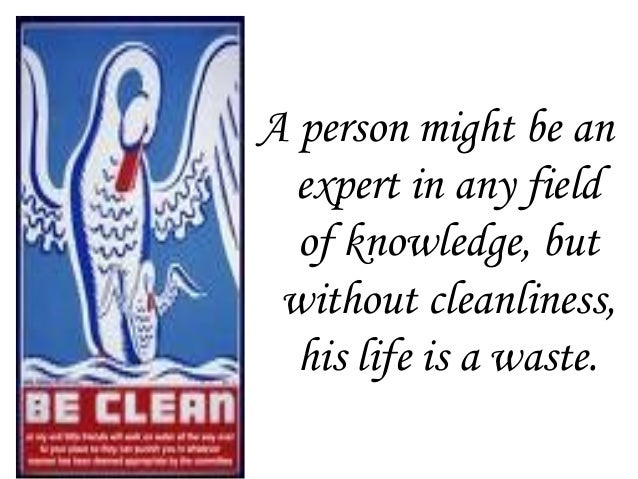 75 Quotes On Cleanliness In English Paulcong