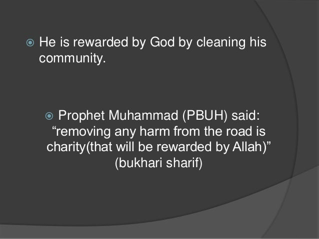The Importance Islam Gives to Cleanliness