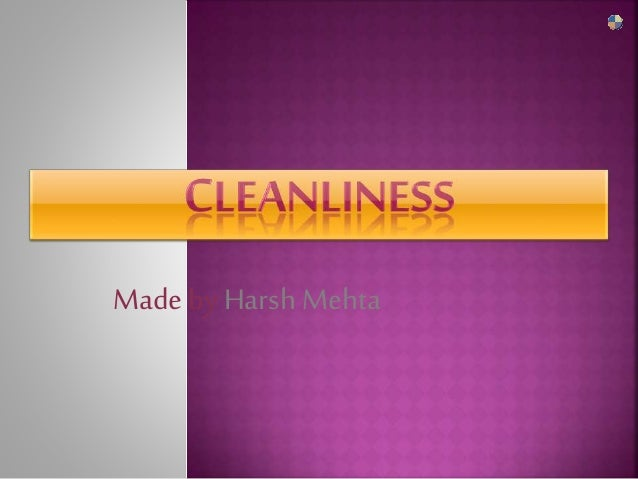 cleanliness and orderliness in the classroom