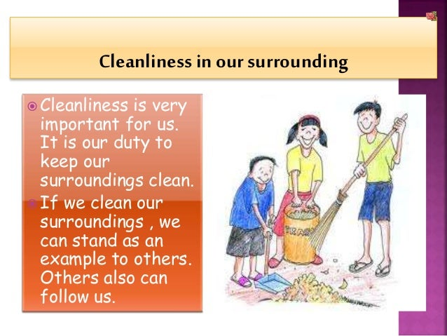 Help on essay our school clean