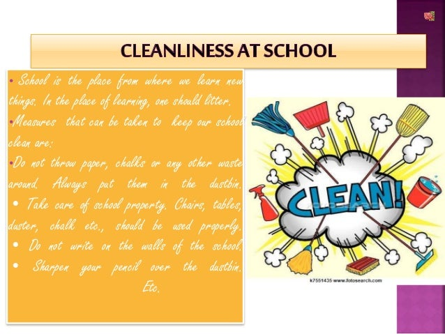 Cleanliness ppt..