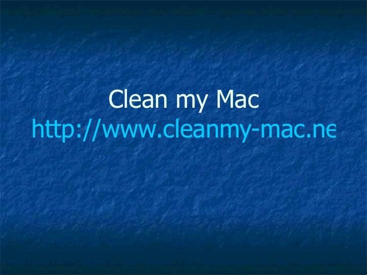 clean my mac tpb