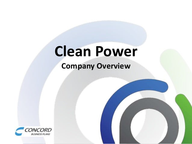 Clean Power Company Overview