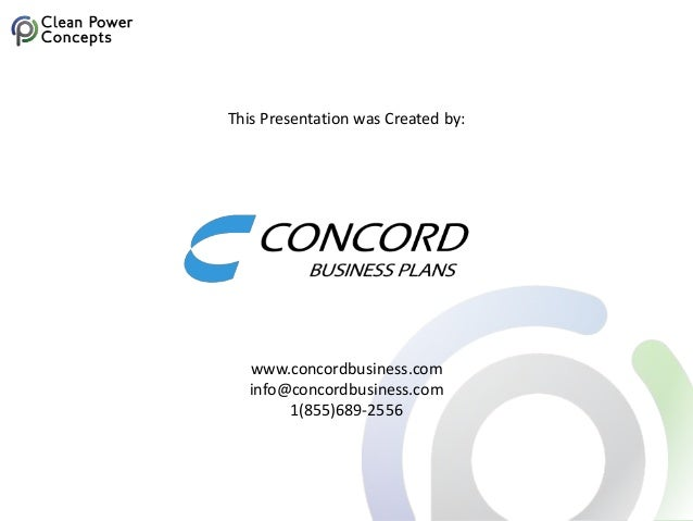 This Presentation was Created by: www.concordbusiness.com info@concordbusiness.com 1(855)689-2556