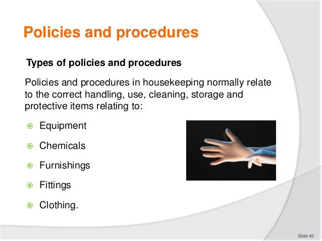 hotel policies and procedures manual