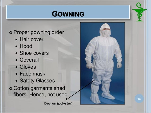 Pharmaceutical Clean Room Gowning