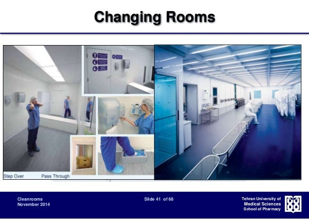 Cleanroom, Classification, Design and