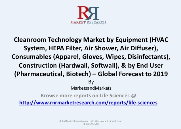 Cleanroom Technology Market by Equipment (HVAC System, HEPA Filter, Air Shower, Air Diffuser), Consumables (Apparel, Glove...