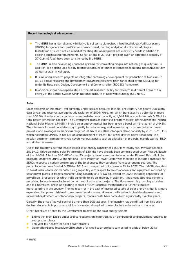 Essay on indian energy synario