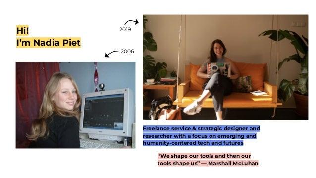 Nadia Piet - Design Thinking for AI Slide 3