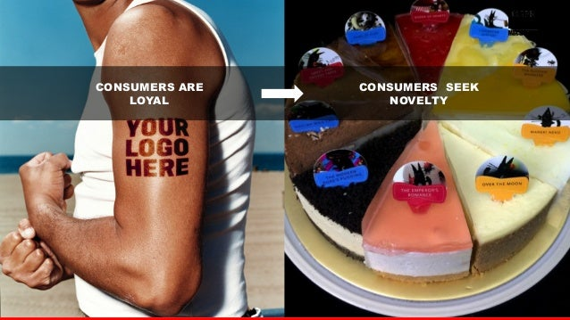 13  CONSUMERS ARE  LOYAL  CONSUMERS SEEK  NOVELTY