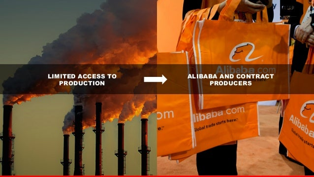 14  LIMITED ACCESS TO  PRODUCTION  ALIBABA AND CONTRACT  PRODUCERS