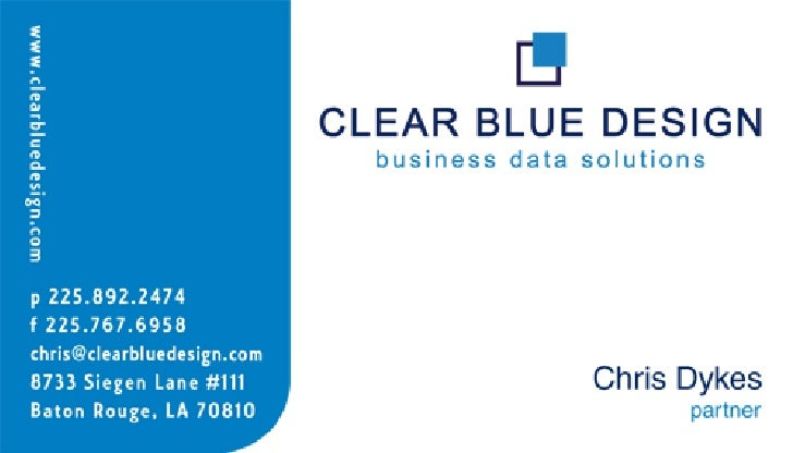 Clearblue Logo Design Amp Business Card