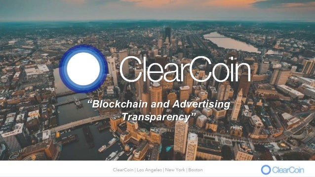 """""""Blockchain and Advertising Transparency"""""""