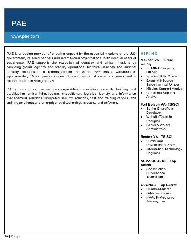 Cleared Job Fair Job Seeker Handbook January 31, 2019