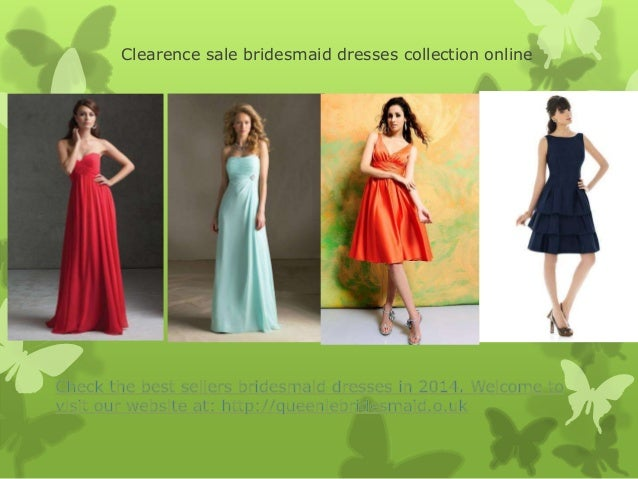 Clearence sale bridesmaid dresses collection online