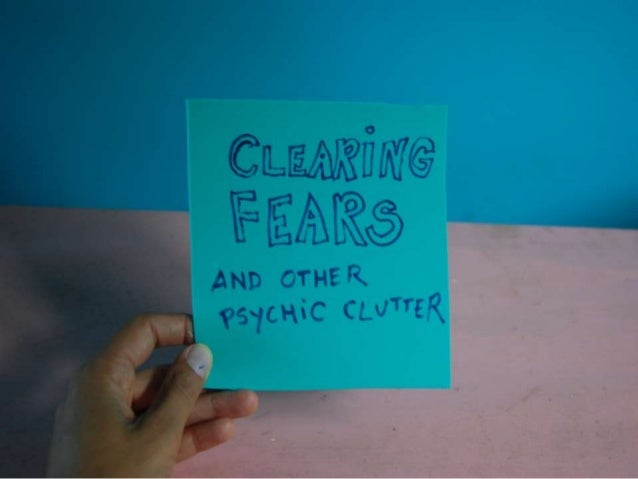 Clearing Psychic Clutter