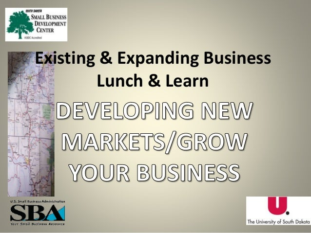 Existing & Expanding Business Lunch & Learn