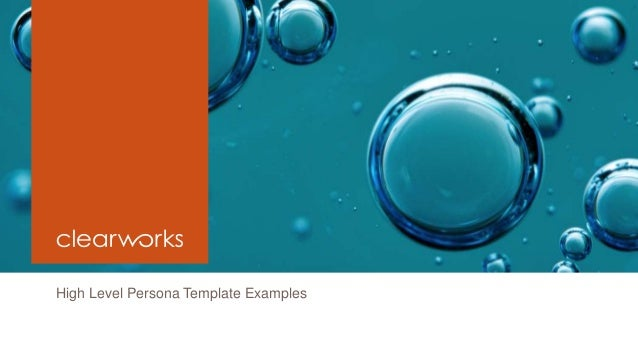 Clearworks Persona Templates