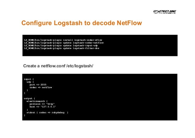 DIY Netflow Data Analytic with ELK Stack by CL Lee
