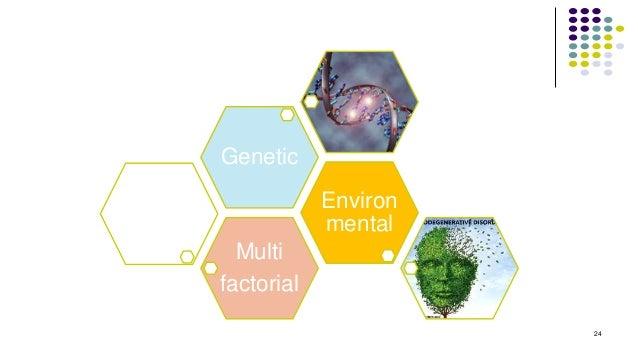 Multi factorial Environ mental Genetic 24