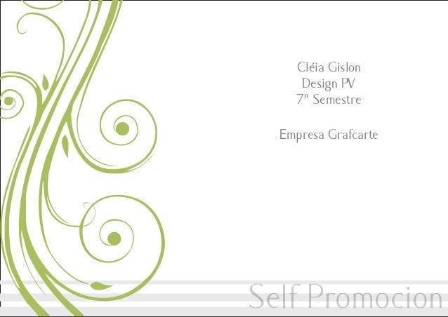 Cléia Gislon Design PV 7º Semestre Empresa Grafcarte