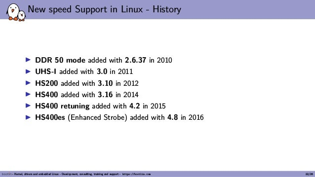 Kernel Recipes 2018 - Overview of SD/eMMC, their high speed modes and…