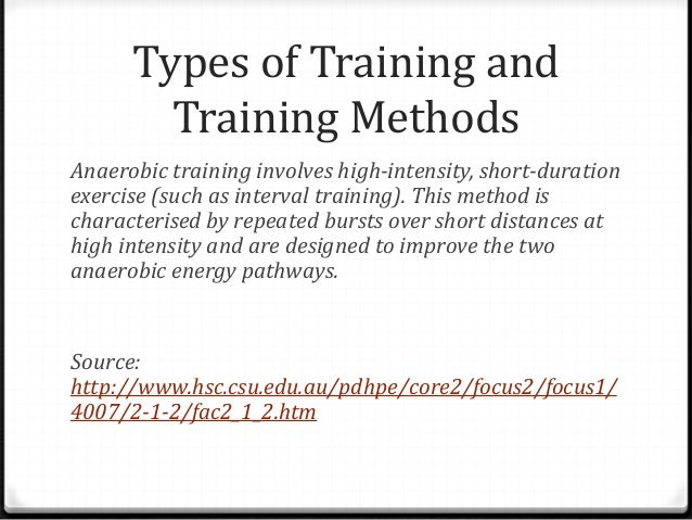 Factors Affecting Performance: How does training affect performance?