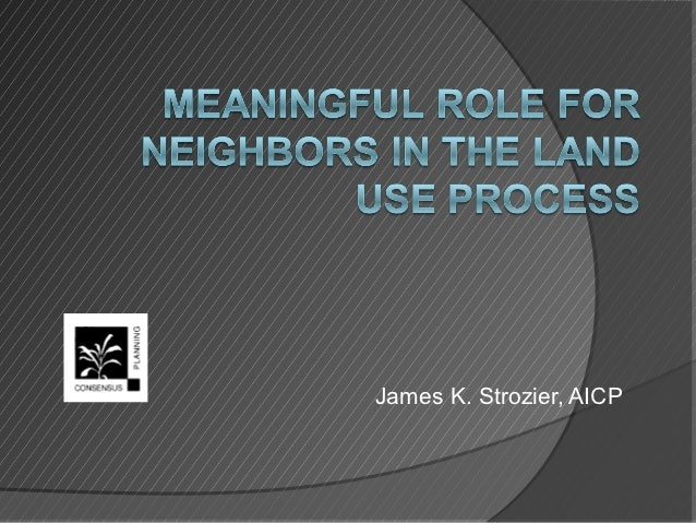 James K. Strozier, AICP