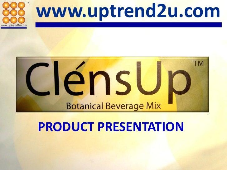 www.uptrend2u.comPRODUCT PRESENTATION
