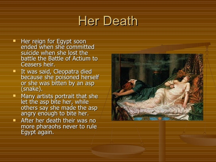 the life love and death of cleopatra vii in egypt What are some highlights in the life of cleopatra vii  after caesar's death,  cleopatra ruled the country of egypt with her beauty as well as her.