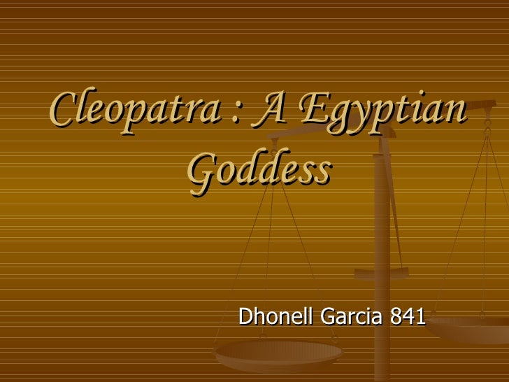 Cleopatra : A Egyptian Goddess Dhonell Garcia 841