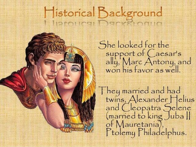 Cleopatra husband mark antony