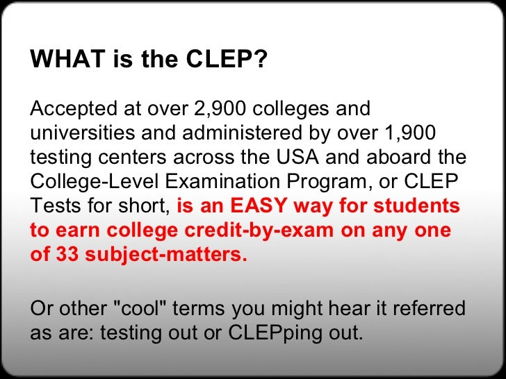 Clep Practice Test Study Guides And Practice Exams | Autos ...