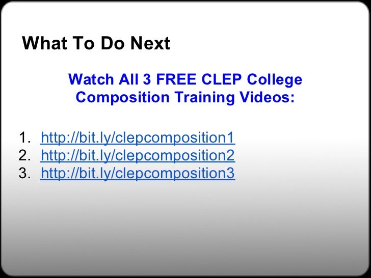 Download [PDF] Clep Official Study Guide Free Online | New ...