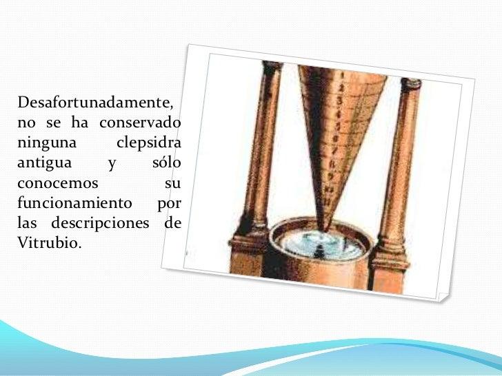 Clepsidras (reloj De Agua
