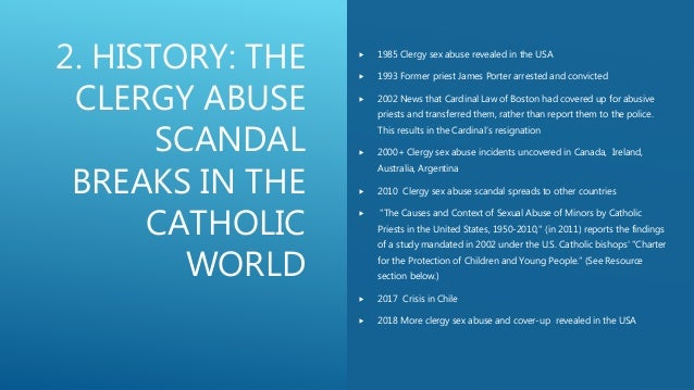 Catholic Clergy Sex Abuse: Scandal & Crisis, Prevention
