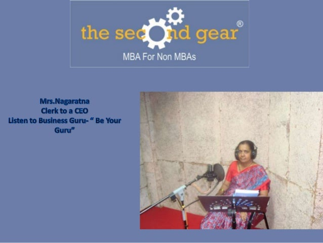 Clerk to ceo the journey of ms.nagaratna