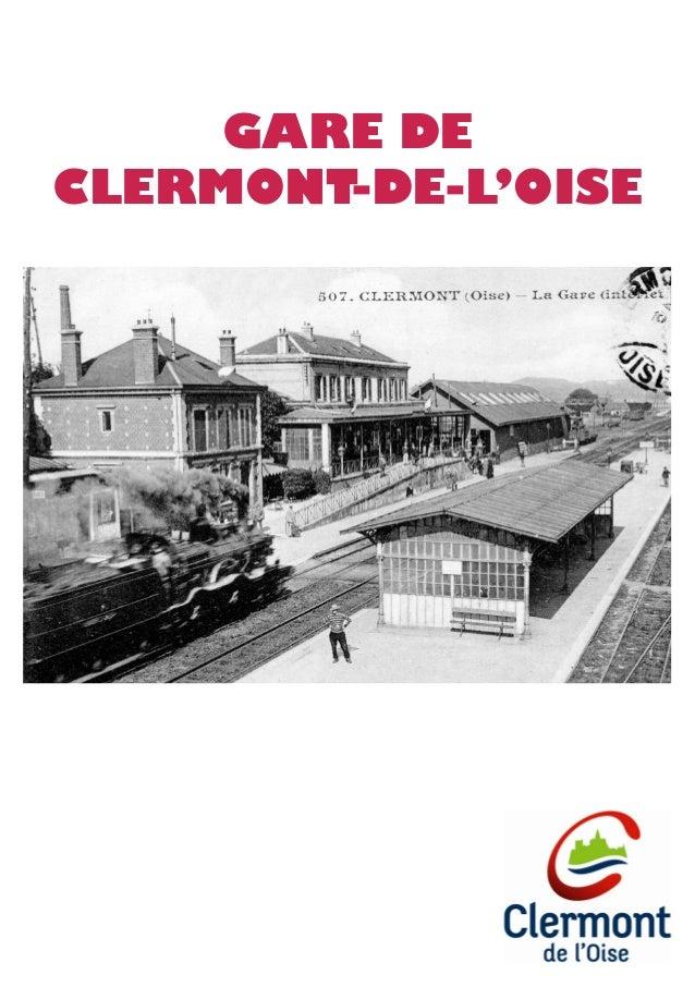 GARE DE CLERMONT-DE-L'OISE