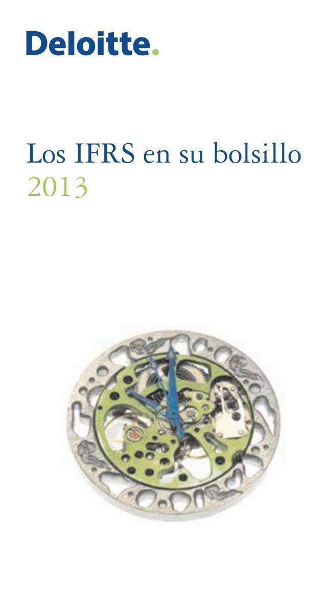 Los IFRS en su bolsillo 2013
