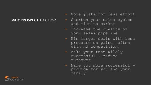 C level meetings fast sales 30 chicago 2019 final Slide 3