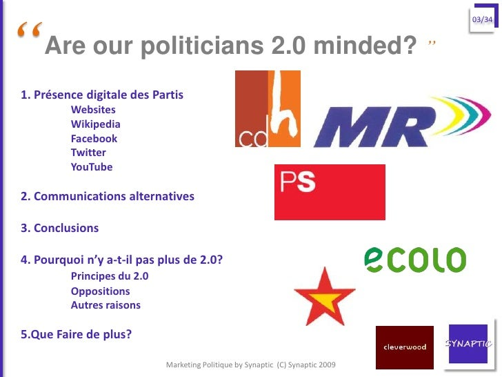 """""""                                                                                 03/34       Are our politicians 2.0 mind..."""