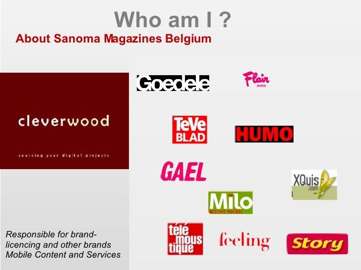 Mobile monday key role of platforms for Sanoma magazines belgium