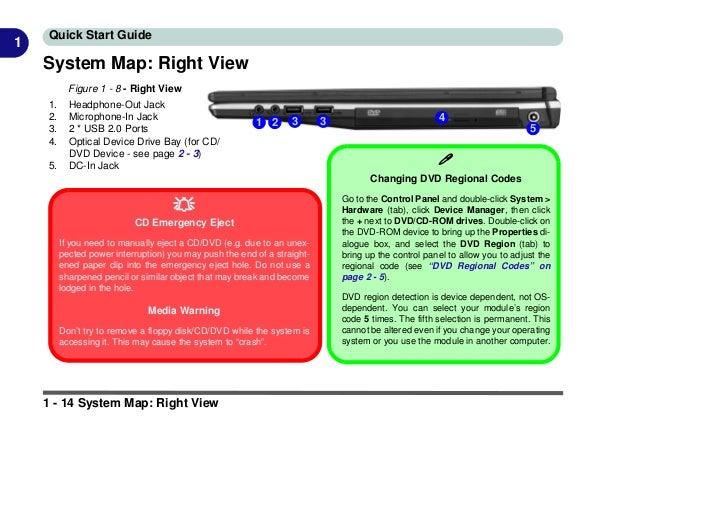 Clevo M540 G User's Manual