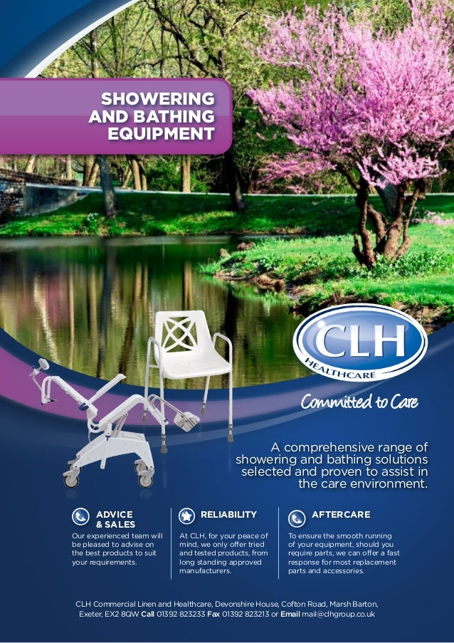 CLH Showering And Bathing Equipment Booklet