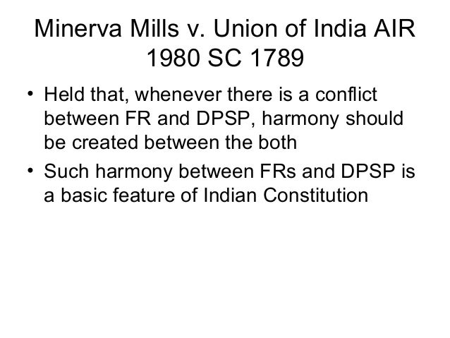 Basic Structure of Indian Constitution