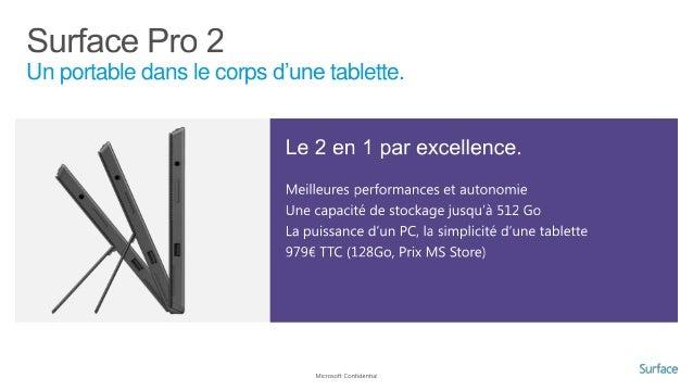 Avantages d'une tablette Windows 8 1. Mobile et réactive •  Sortie de veille instantanée (1 seconde)  •  Démarrage ultra r...